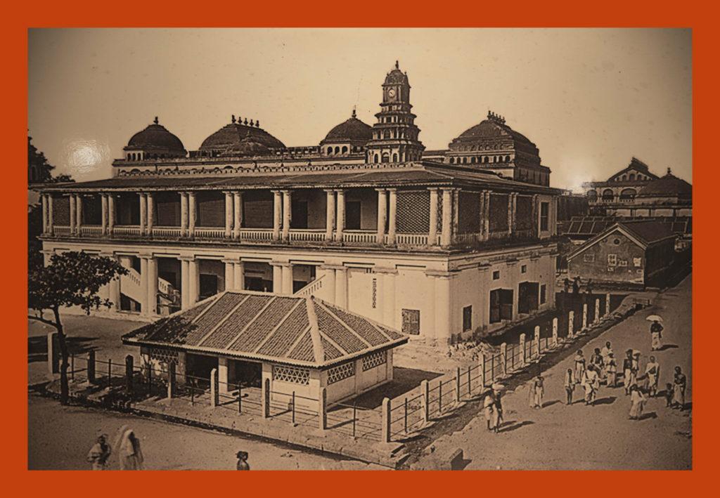 Thirumalai Nayak Palace original view