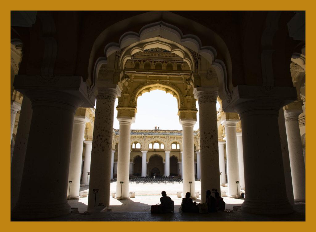 Thirumalai Nayak Palace Dravidian Islamic construction